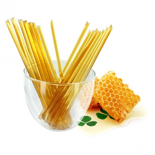 Honey Sticks - Pure Honey bee - Box of 100 sticks
