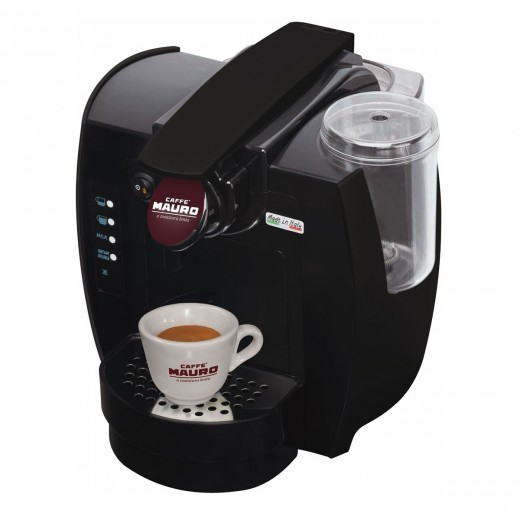 Sweety automatic capsule with milk frother