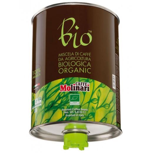 Coffee Beans Organic BIO 100% Arabica Tin - 3kg