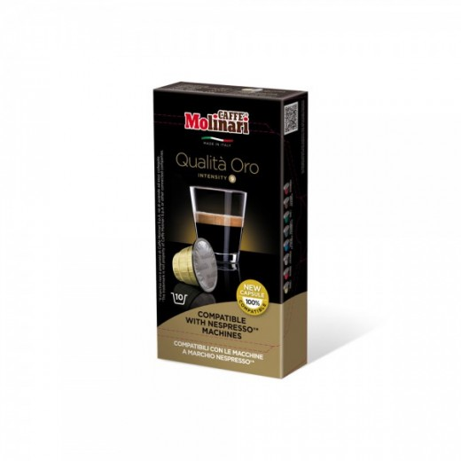 "Espresso ""ORO"" capsules - Box of 10 caps"