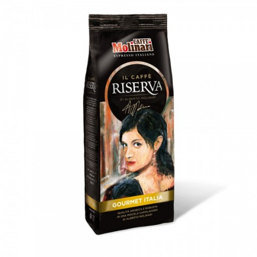 "Ground Coffee ""GOURMET ITALIA"" flow bag - 250g"