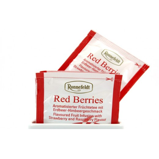 Red Berries Ronnefeldt Teavelope - per box of 25 pieces