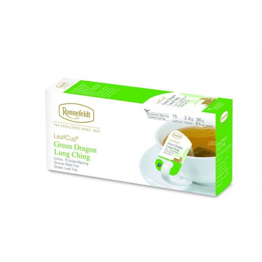 Ronnefeldt LeafCup Green Dragon Tea Teavelope - per box of 15 pieces