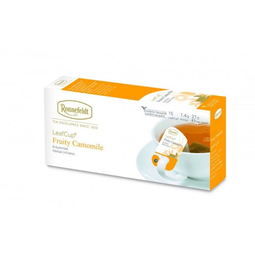 Ronnefeldt LeafCup Fruity Camomile Teavelope - per box of 15 pieces
